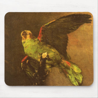 Green Parrot by Vincent van Gogh, Vintage Fine Art Mouse Pad