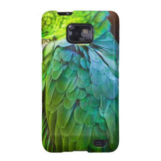 Green Parrot Galaxy S2 Case