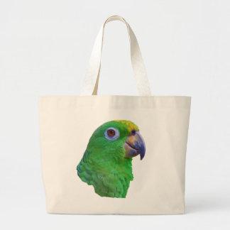 Green Parrot Customizable Bag