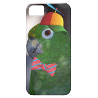 green parrot kid friendly iPhone 5 case