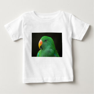 Green Parrot Profile Baby T-Shirt