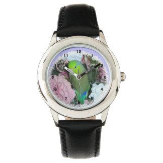 Green Parrotlet Watch