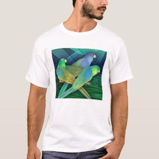 Green Parrots T-Shirt