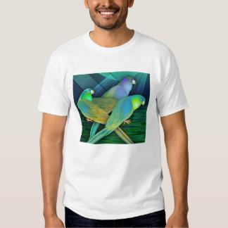 Green Parrots Tshirt