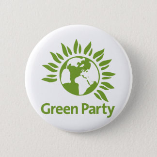 Green Party of England and Wales 2 Inch Round Button
