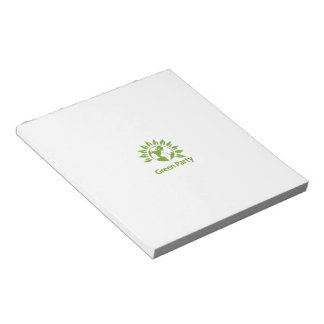 Green Party of England and Wales Notepads