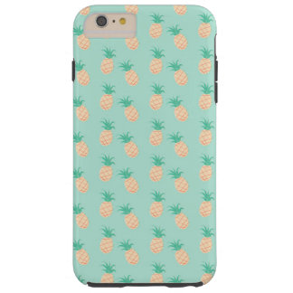 GREEN PASTEL PINEAPPLES iPhone 6/6s Plus, Tough Tough iPhone 6 Plus Case