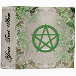 Green Path Book of Shadows Vinyl Binder
