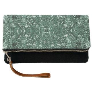 Green pattern clutch