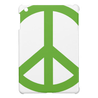 Green Peace Sign Symbol iPad Mini Cover
