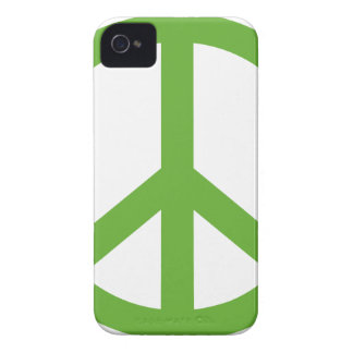 Green Peace Sign Symbol iPhone 4 Cover