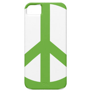 Green Peace Sign Symbol iPhone 5 Case