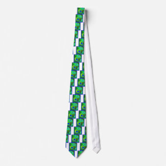 Green Peacock Feather Eyes Gifts Tie