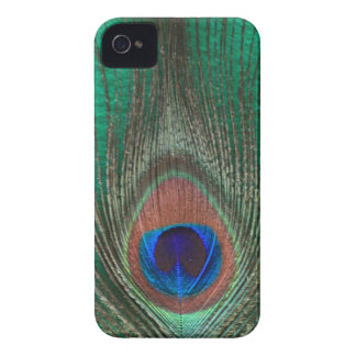 Green Peacock Feather iPhone 4 Barely There Case iPhone 4 Case-Mate Case