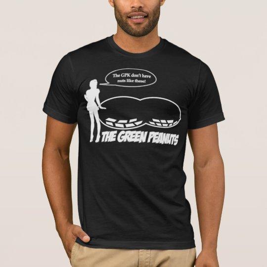 GREEN PEANUTS boo T-Shirt