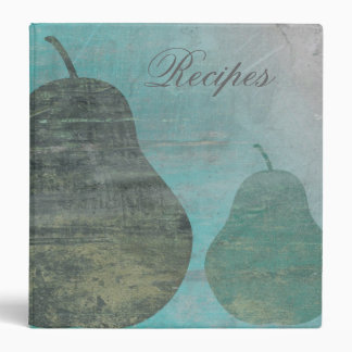 Green Pear Recipe Binder