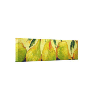 Green Pears Gallery Wrap Canvas Print