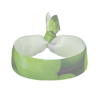 Green Peas Background Hair Tie
