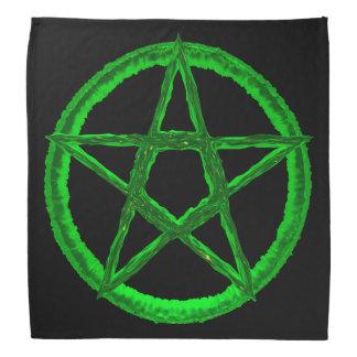 Green Pentagram Bandana