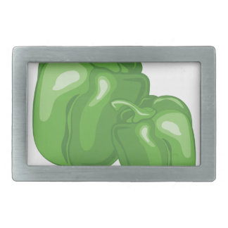 Green Peppers Belt Buckle