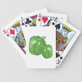 Green Peppers Poker Deck