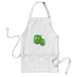 Green Peppers Standard Apron