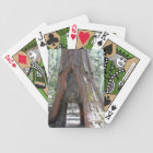 Green Personalized Jumbo Index Playing Cards