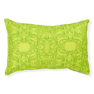 green pet bed