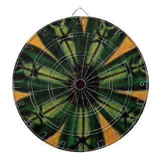 green petal stemm dartboard