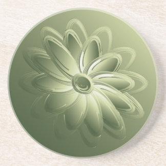 green petals coaster