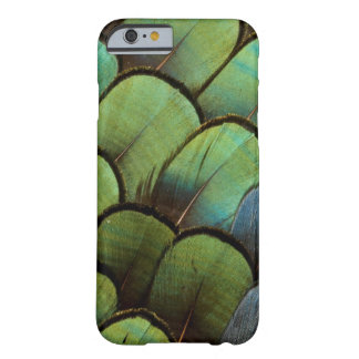 Green pheasant geather pattern barely there iPhone 6 case