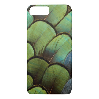 Green pheasant geather pattern Case-Mate iPhone case