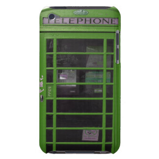 green phone booth iPod touch Case-Mate case