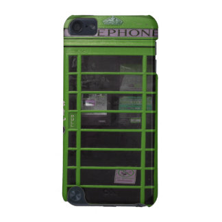 green phone booth iPod touch (5th generation) covers