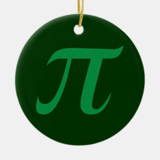 Green Pi Ornament