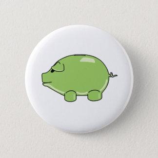 Green Pig Button