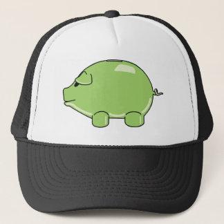 Green Pig Hat