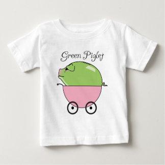 Green Piglet (Pink) Infant T-Shirt