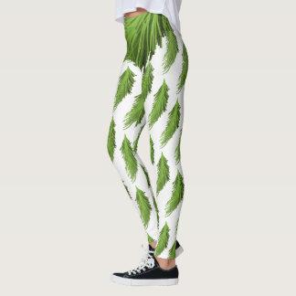 Green Pines Leggings