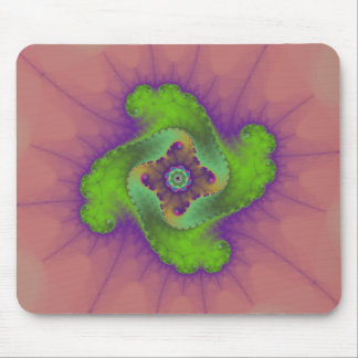 Green, Pink and Purple - Mousepad