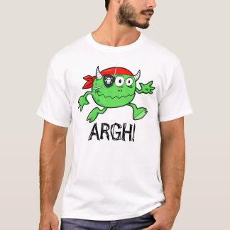 """Green Pirate Monster """"ARGH!"""" T-Shirt"""