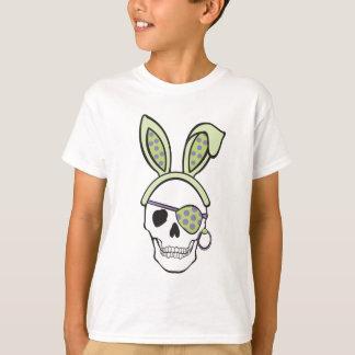 Green Pirate Skull Tee