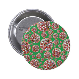 Green pizza pie pin
