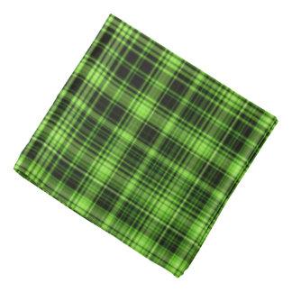 Green Plaid Bandana
