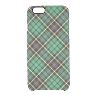 Green Plaid iPhone Case