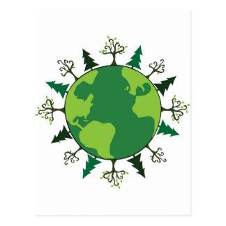 Green Planet Postcard