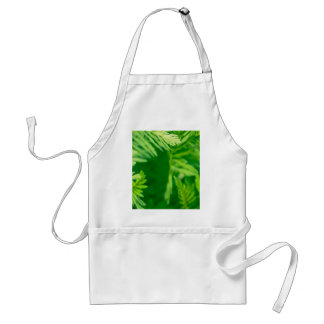 Green plant aprons