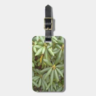 Green plant bag tag