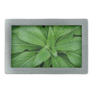 Green Plant Belt Buckle