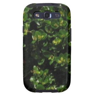 Green Plant Samsung Galaxy S3 Case